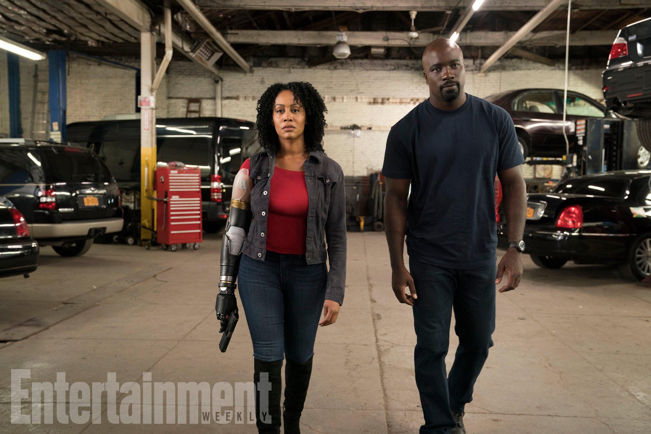 'Luke Cage' Season 2: Here's Misty Knight's Bionic Arm