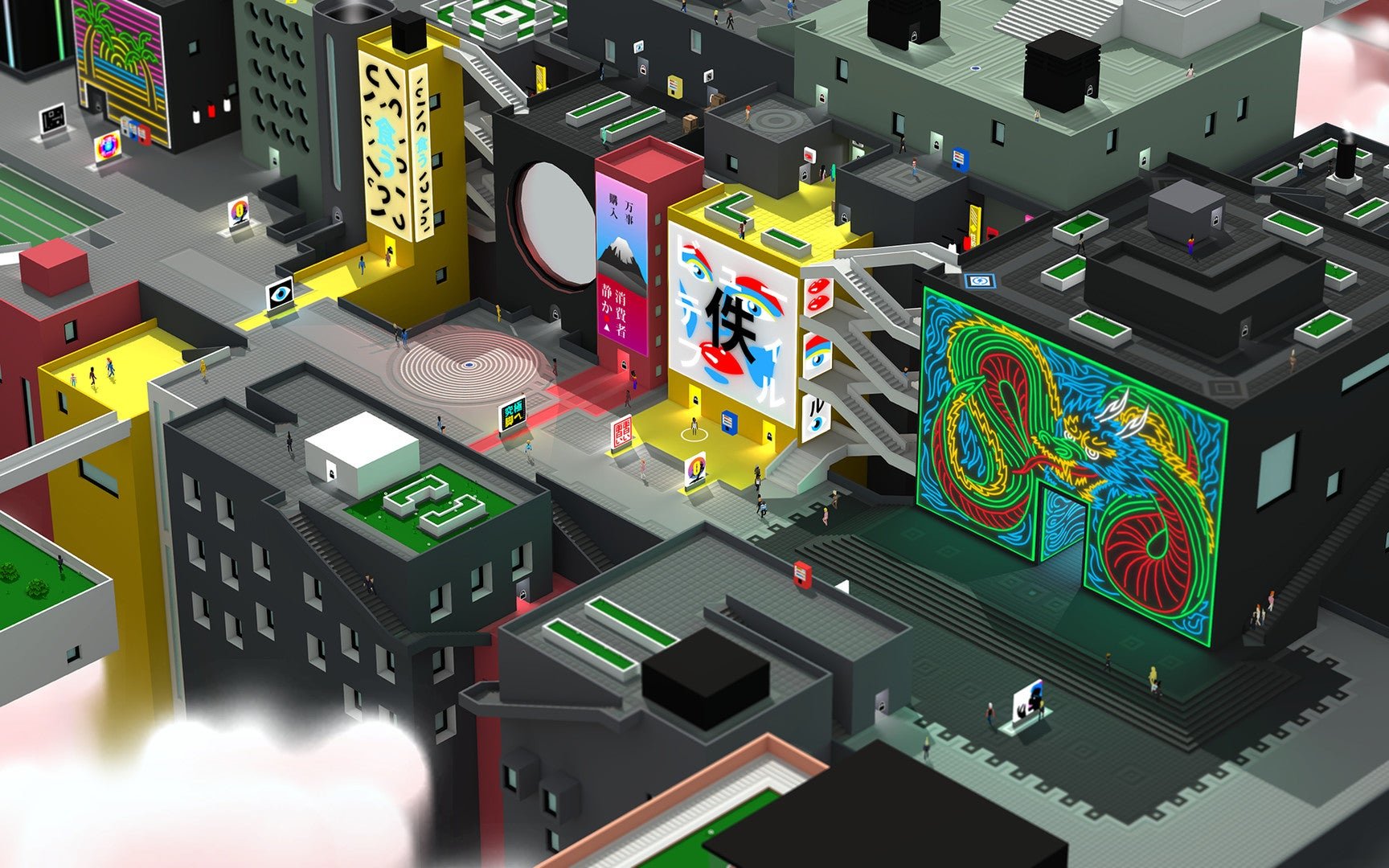 Tokyo 42 Is The Cutest Game About Assassination