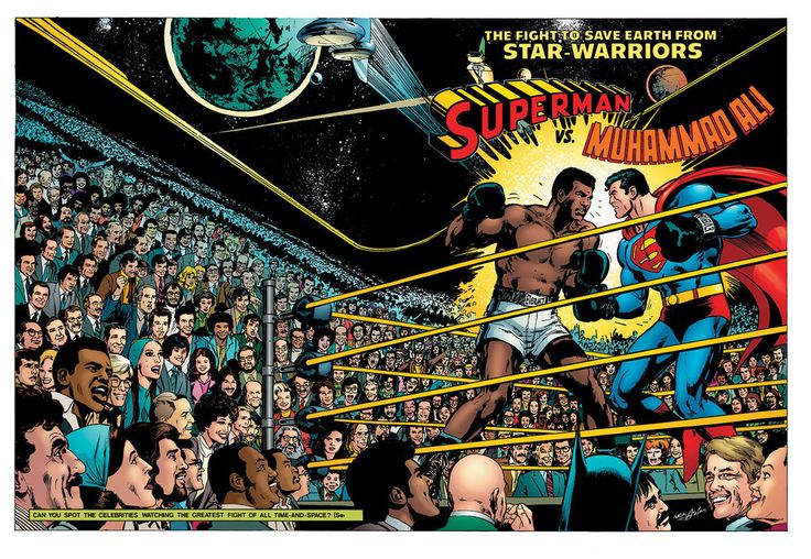 The Story Behind That Superman and Muhammad Ali Team Up