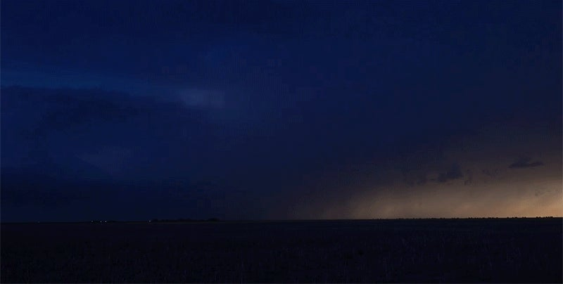 This Brilliant Lightning Show is Perfectly Synced to a Rousing Soundtrack