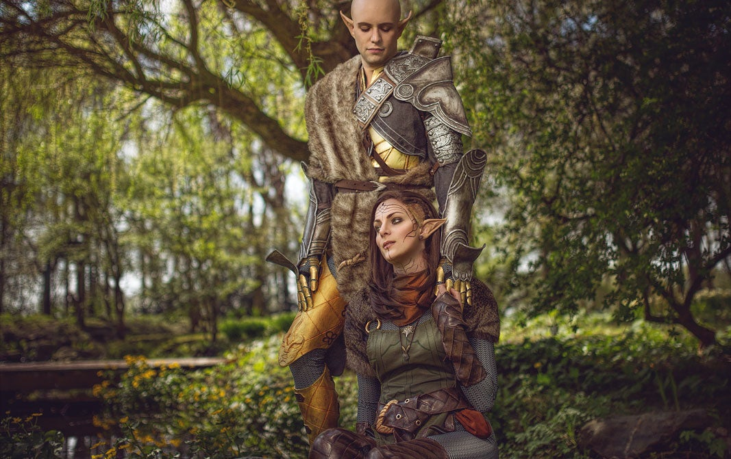 Dragon Age Cosplay Is All About The Romance