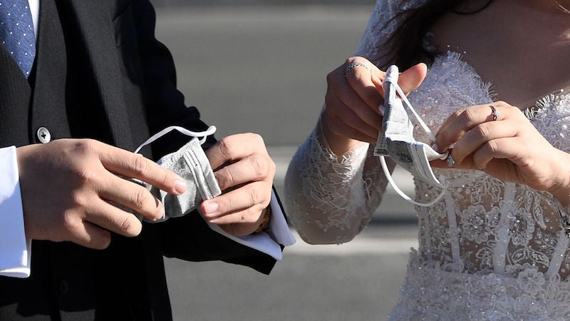 Say 'I Do' On Zoom: New York Governor Allows People To Obtain Marriage Licenses Remotely