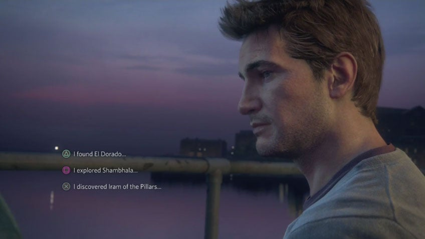 Uncharted 4 Has... Dialogue Options?