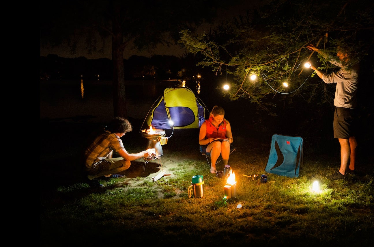 BioLite's New Lanterns Are A Tiny Powergrid For Your Campsite