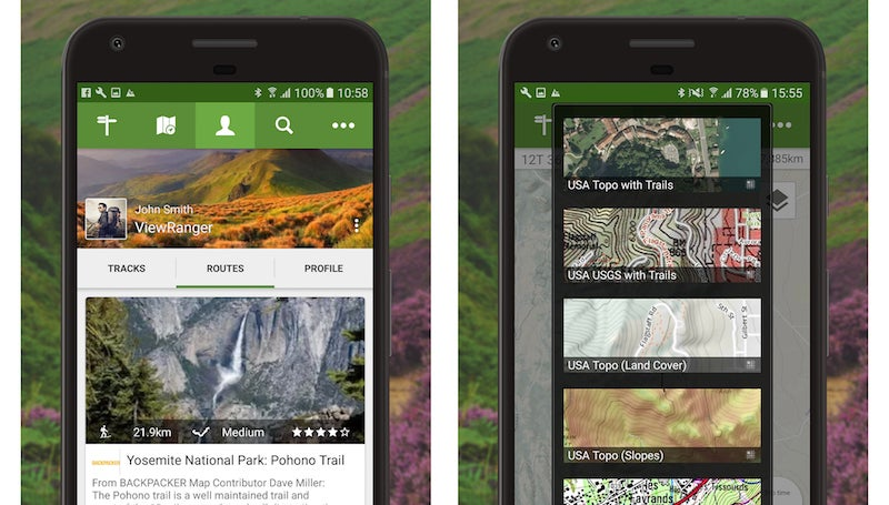 ViewRanger Helps You Discover And Save Nearby Hiking Trails