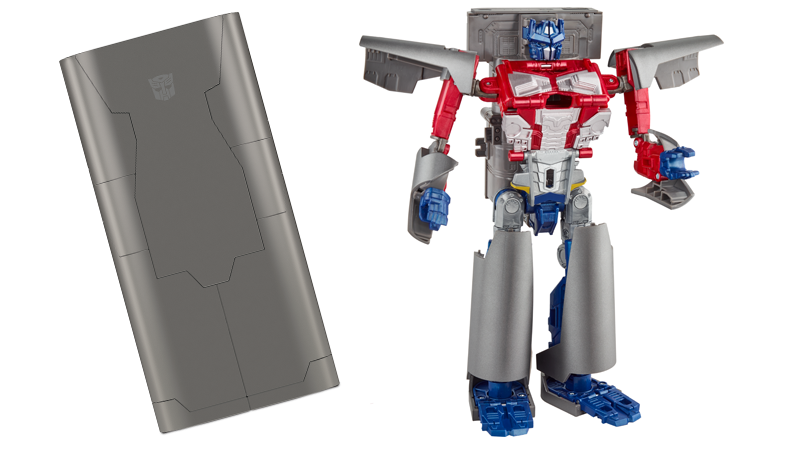 Hasbro's Own Convention Will Sell You A Giant Transformer That Actually Charges Your Phone