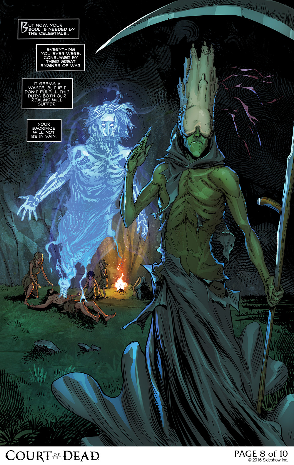 Death's Plans Revealed in Our Final Court of the Dead Comic Preview
