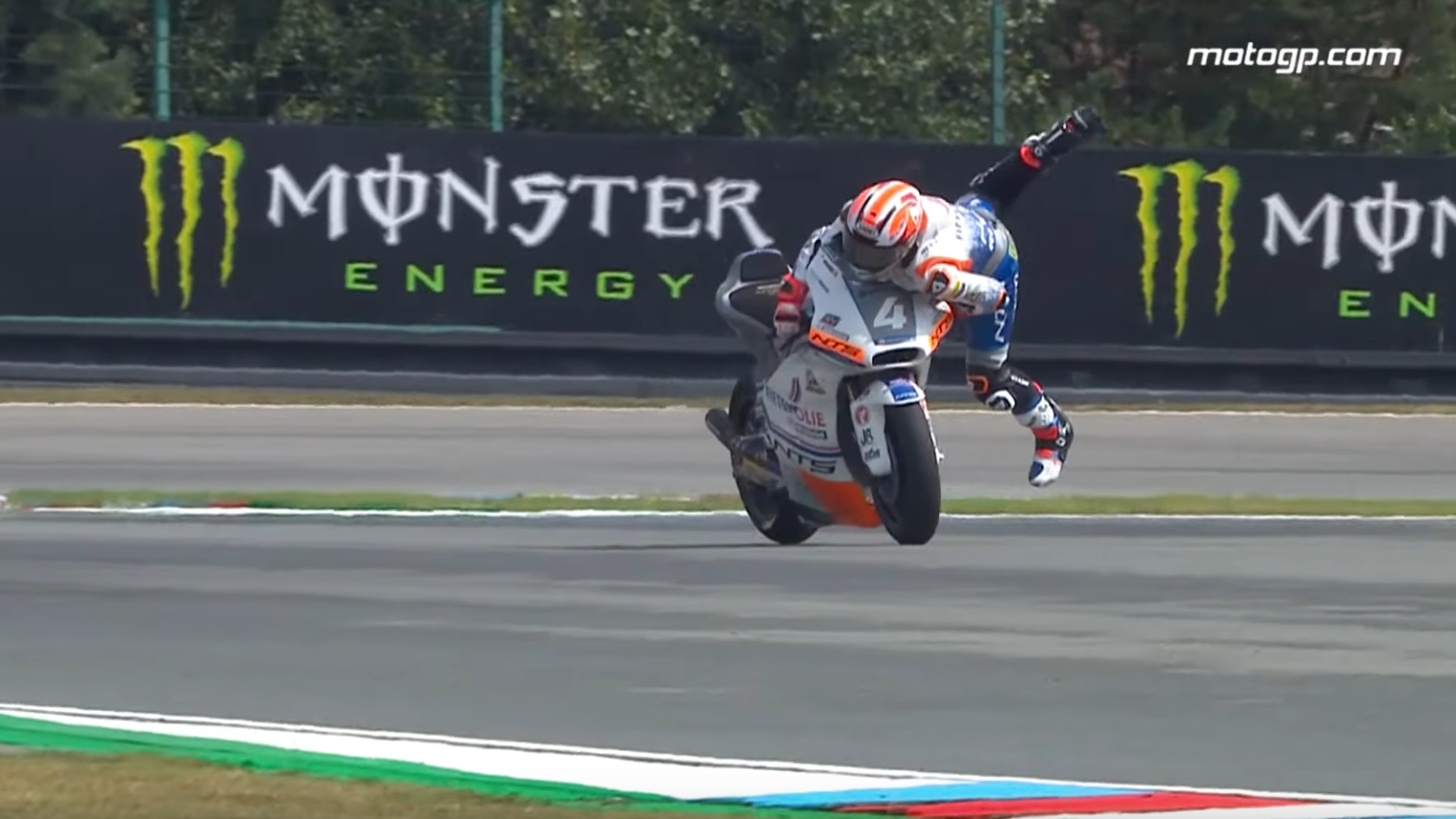 I Continue To Be Impressed By The Ragdoll Physics Of Motorcycle Racers