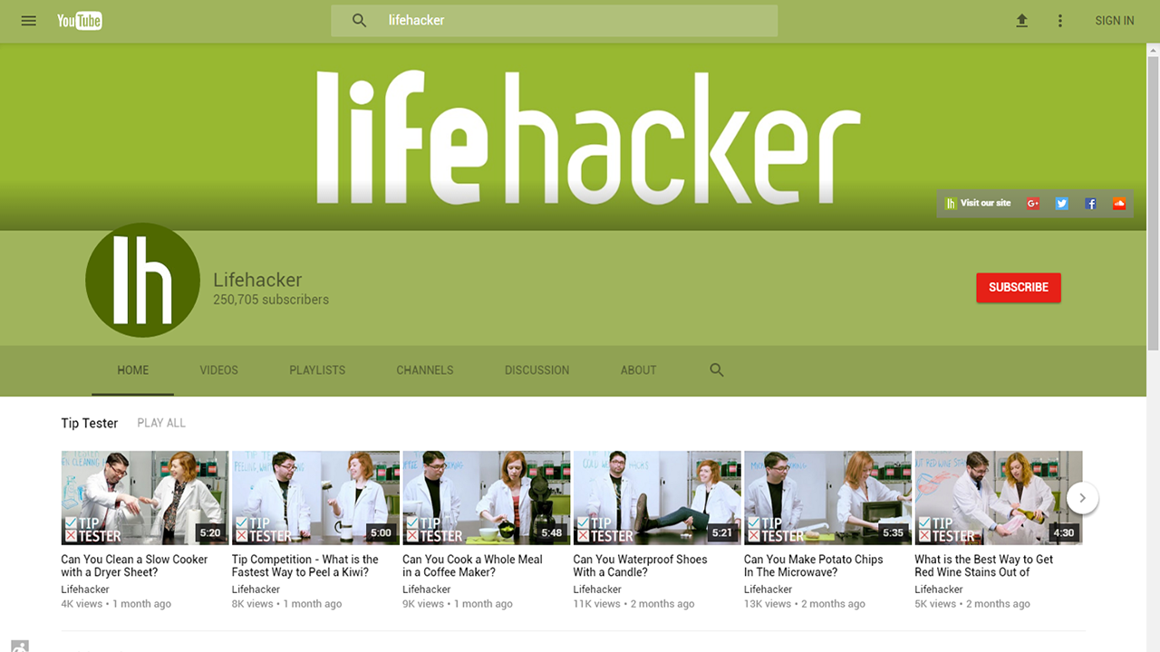 Try Out a New, Experimental Design For YouTube With This Browser Tweak
