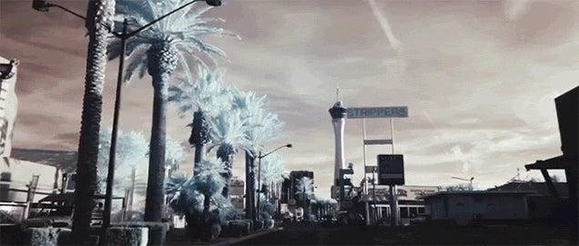 Las Vegas Looks Even Weirder in Infrared