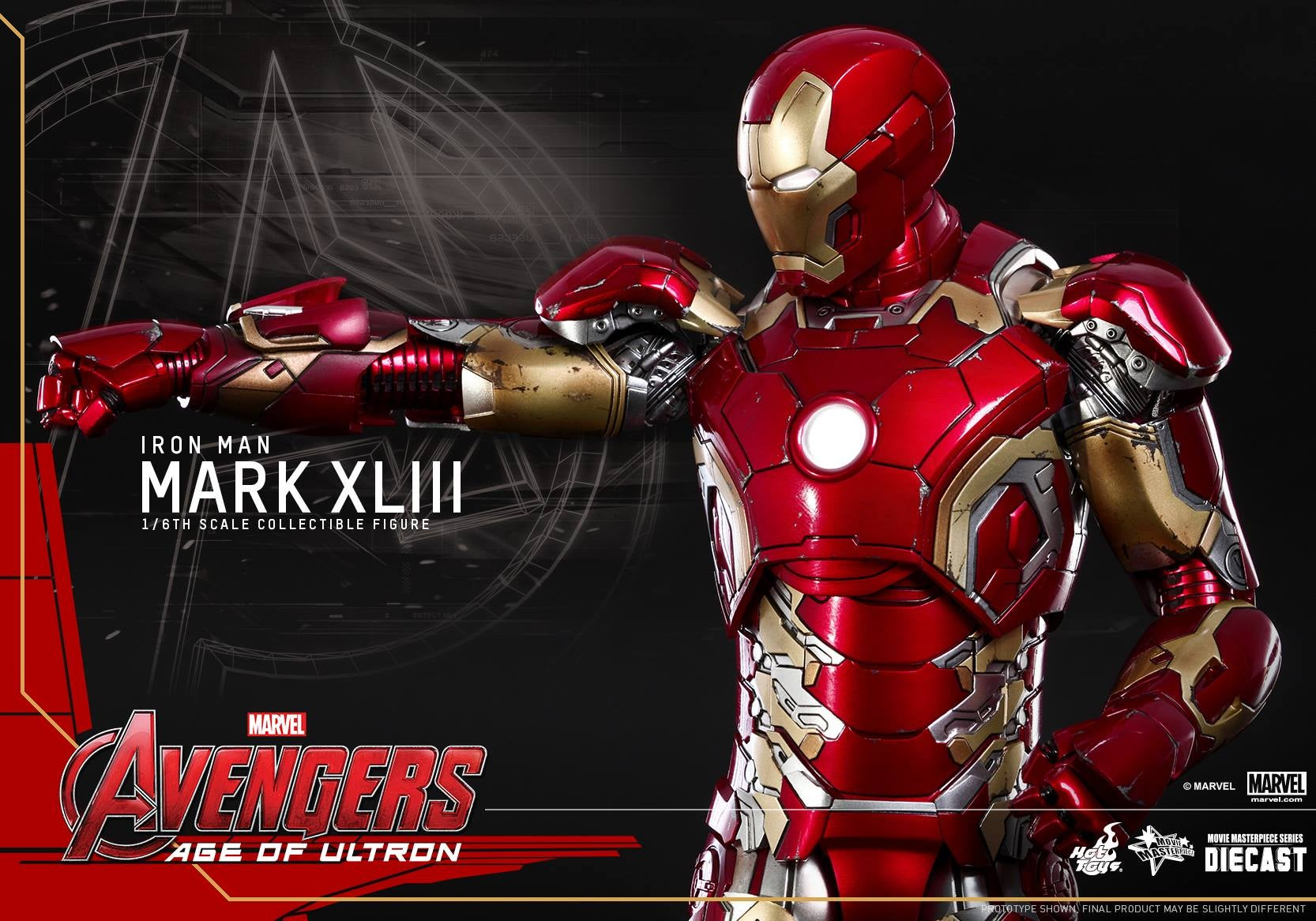 Hot Toys' Age Of Ultron Iron Man Is Totally Metal