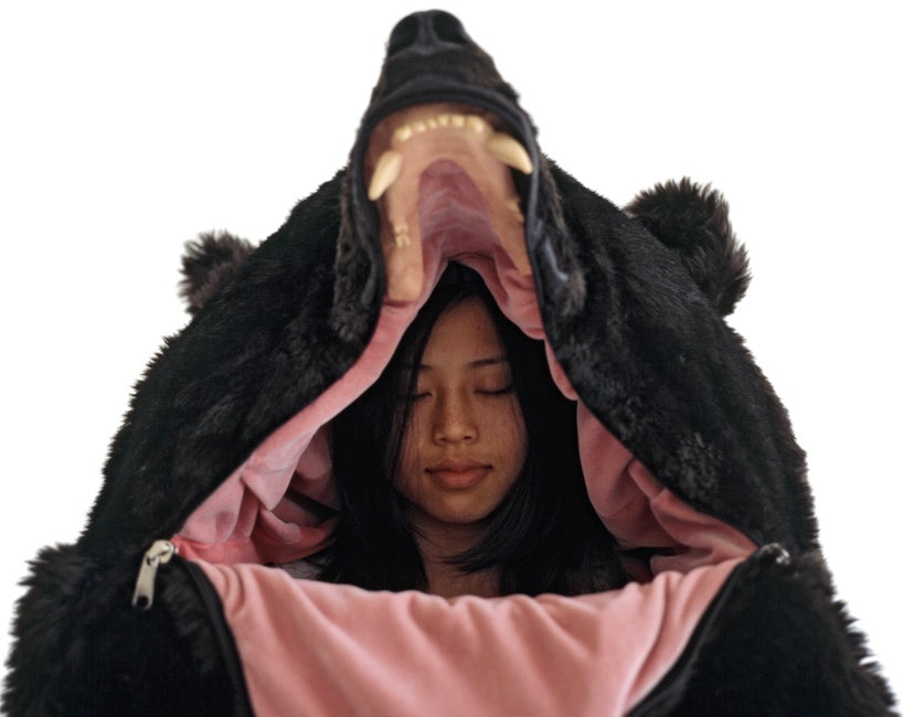 This Bearskin Sleeping Bag Puts You In the Belly of the Beast