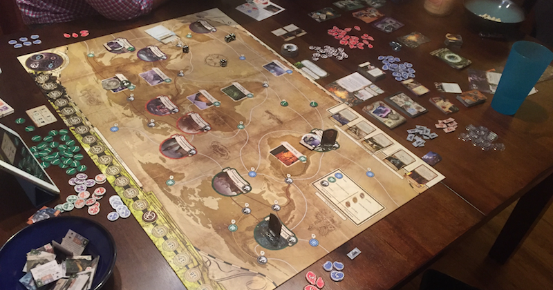 Quick Thoughts OnEldritch Horror, An Appropriately Stressful Board Game