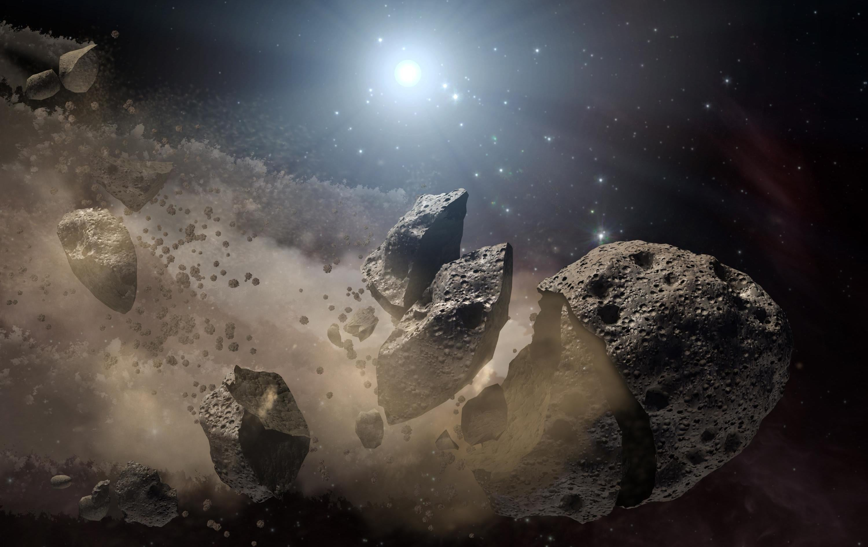 Ancient Wisdom: Early Universe Asteroids Hint at Our Solar System's Origins
