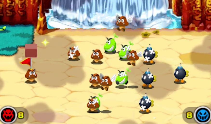 Bowser needs help in Mario & Luigi Superstar Saga