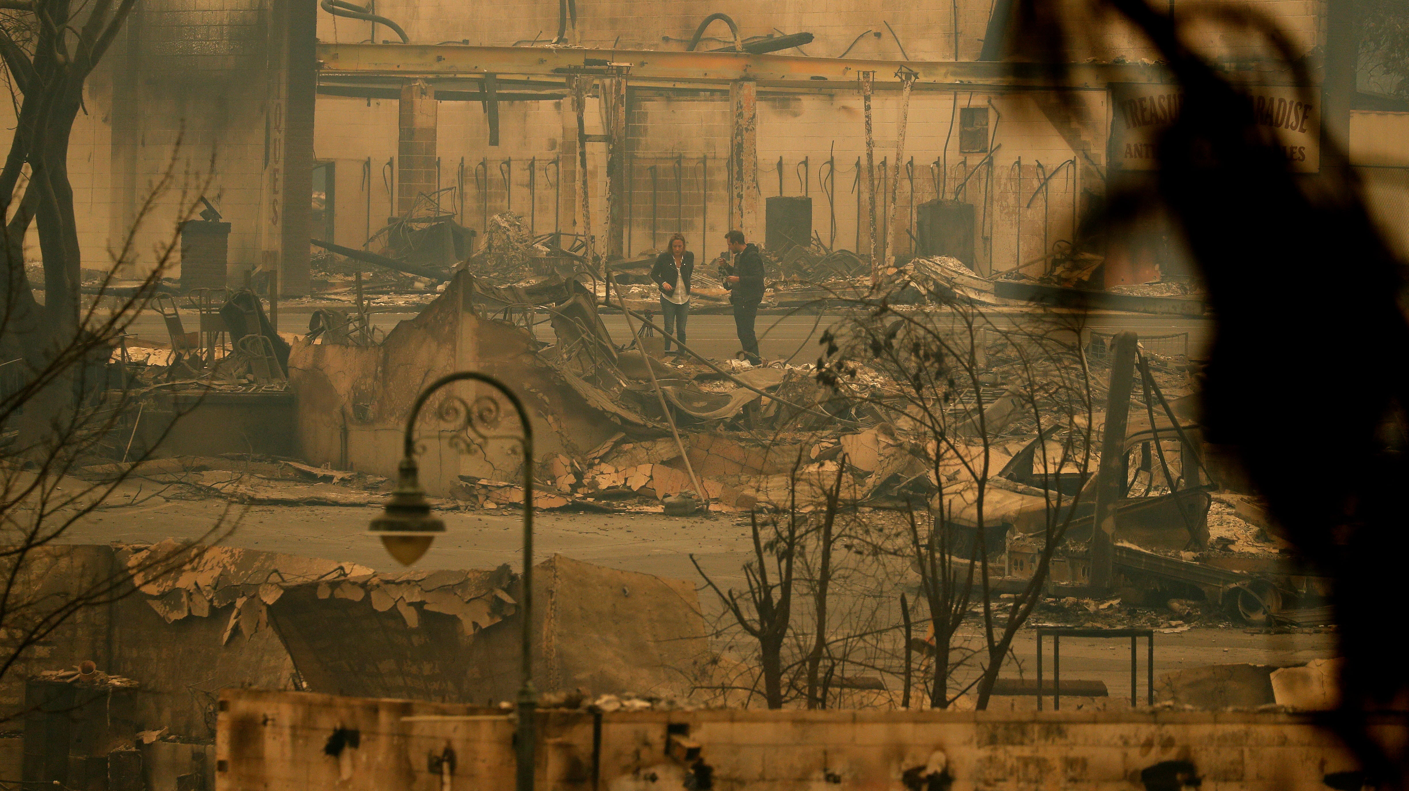 Roughly 100 People Are Listed Missing In The Camp Fire, And Most Are Senior Citizens