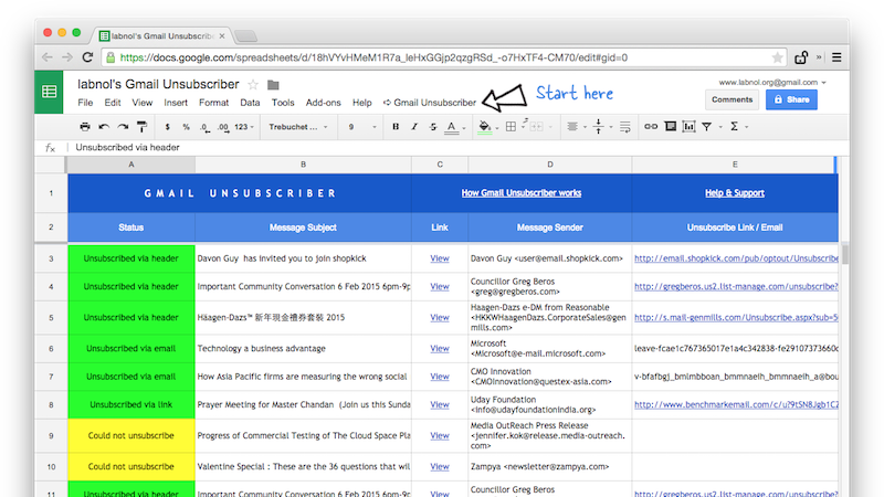 Roll Your Own Unroll.me With A Google Script
