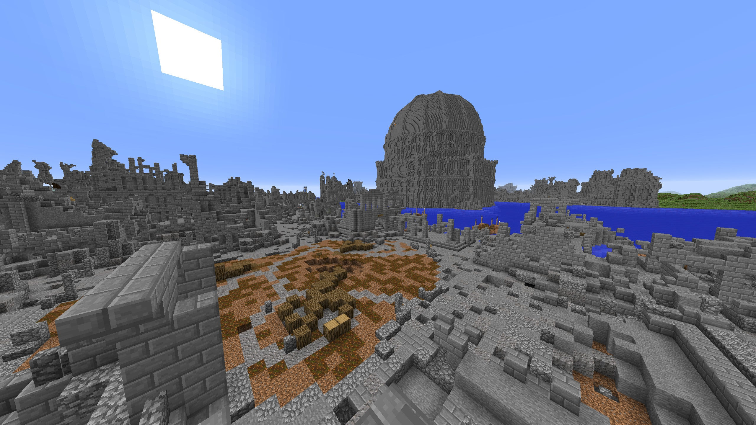 Explore Gondor's Ancient Capital from Lord of the Rings in Minecraft
