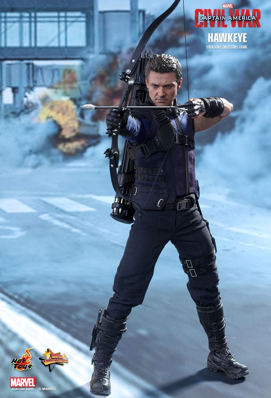 Hawkeye Isn't Even the Coolest Part of This Hawkeye Action Figure