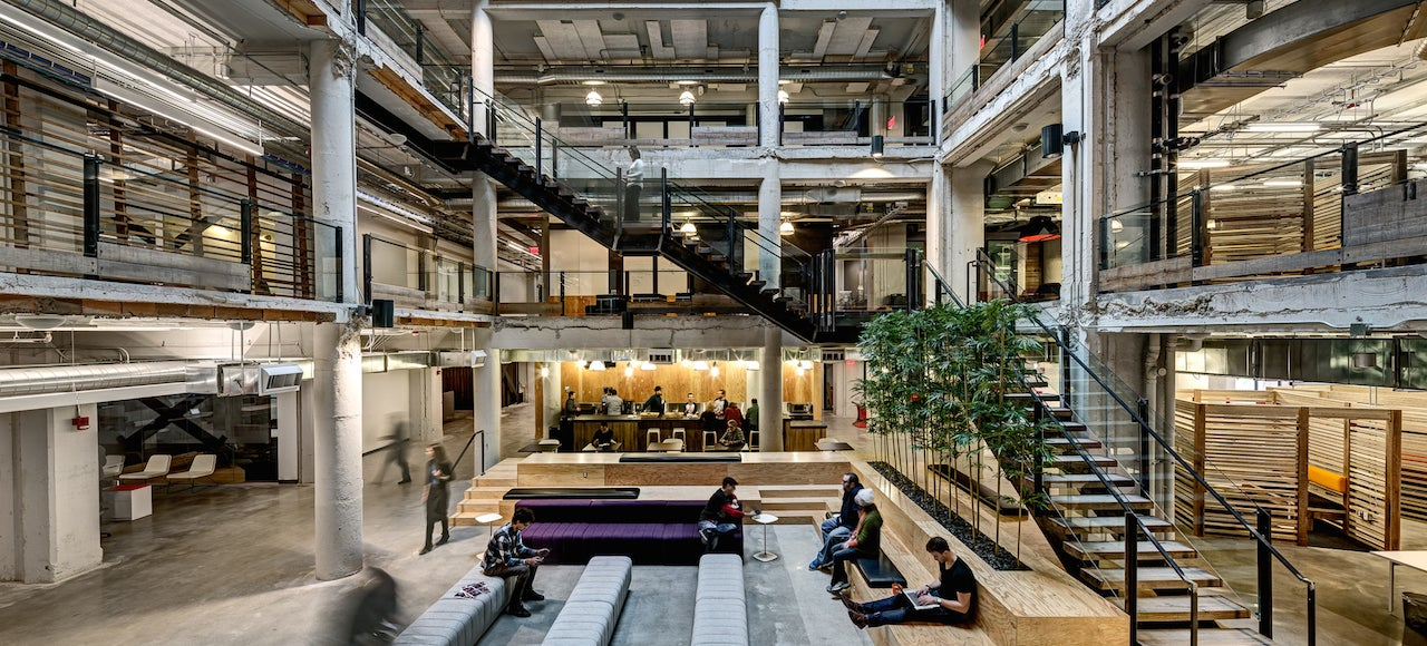 This Century-Old Building Is Now The Cadillac Of Office Spaces