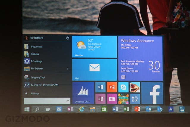 Windows 10: One Operating System To Rule PCs, Phones, Tablets