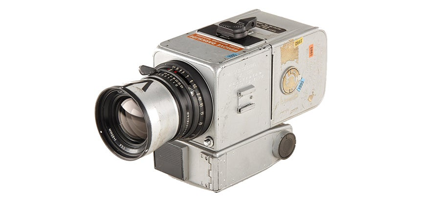 Hasselblad Camera, Used on the Moon, Sells For Nearly a Million Bucks