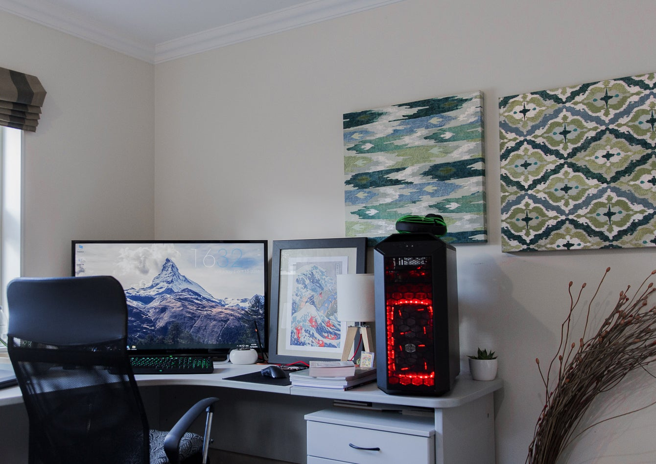 The Cosy Corner Workspace