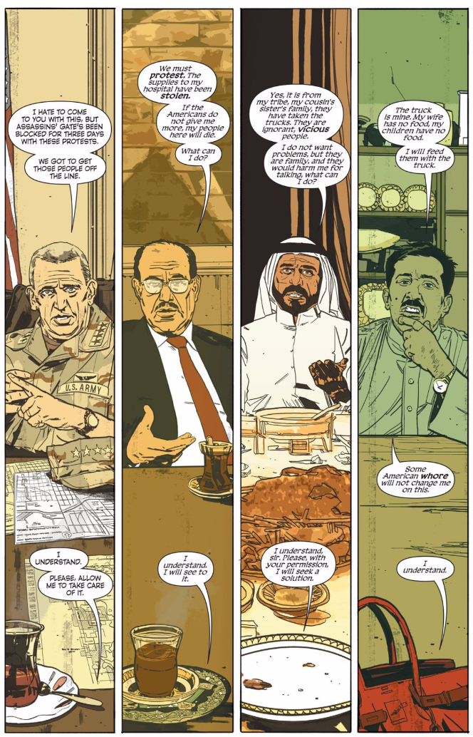 The Fall of Baghdad Makes for a Great Setting for a Crime Comic