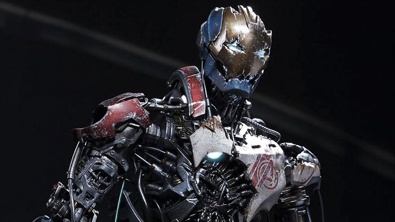 This Sixth-Scale Ultron Will Actually Make You Want A Busted-Up Figure