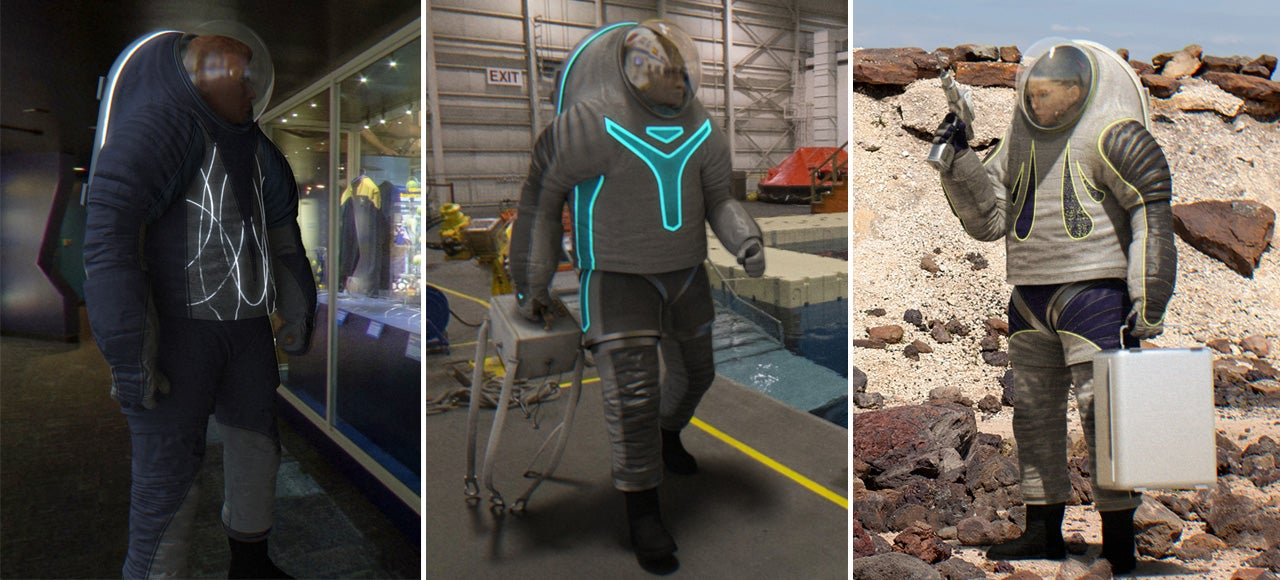 You can decide how the NASA's next spacesuit prototype will look like