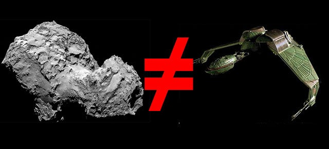 Conspiracy Theorists Are Having a Field Day With Philae