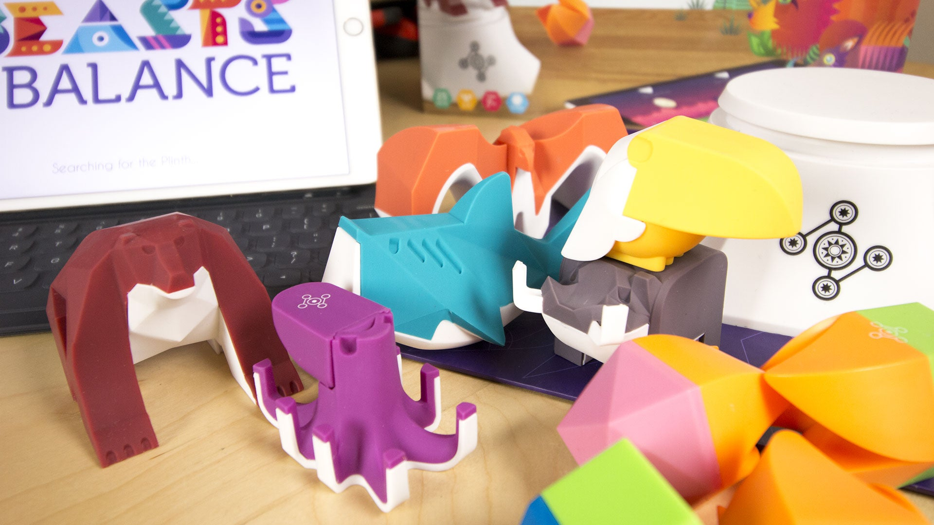 Toy Time Plays A Combo Of Pokemon And Jenga Called Beasts Of Balance
