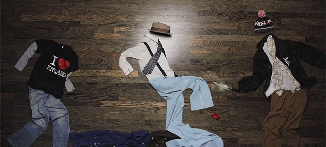 Awesome Stop-Motion Animation Shows Clothes Fighting Each Other Like an Action Movie