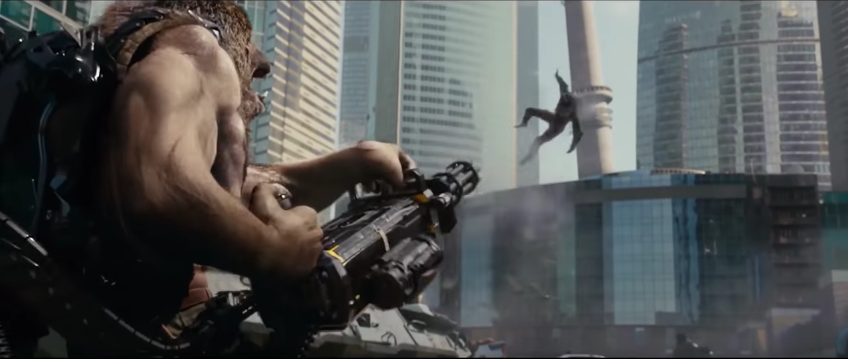 Yes, That Is A Man-Bear With A Gatling Gun In This Insane New Trailer For Russia's Guardians