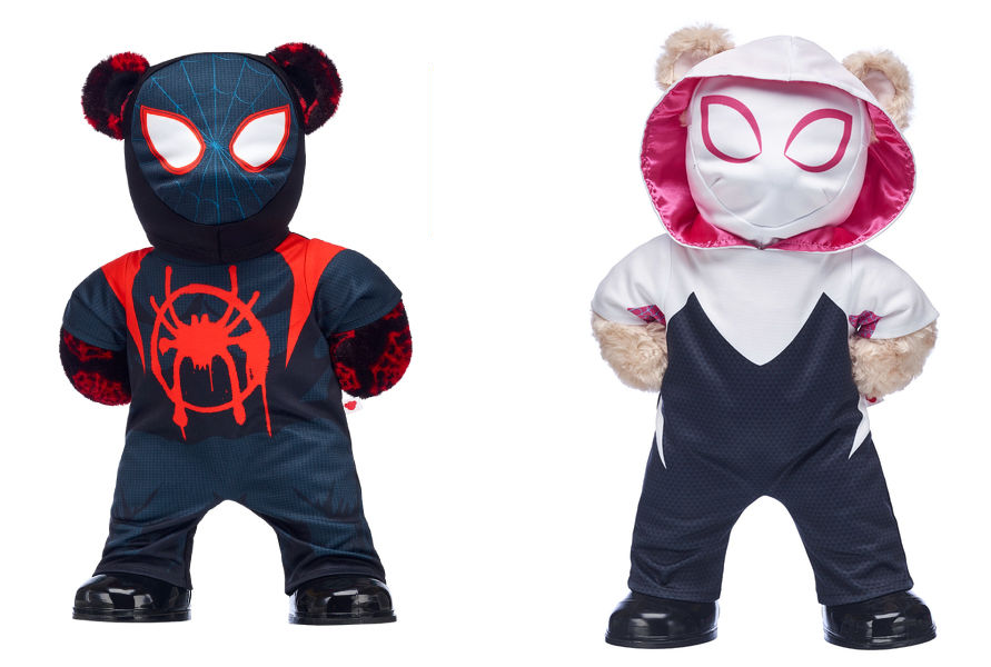 Adorable Into The Spider-VerseHeroes From Build-A-Bear Workshop Have Arrived