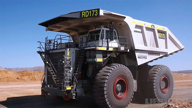 Building these colossal haul trucks is like building your very own Transformer