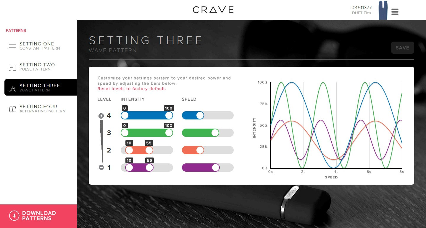 The Crave Flex Series: The Perfect Sex Toys For The Data-Driven Lady