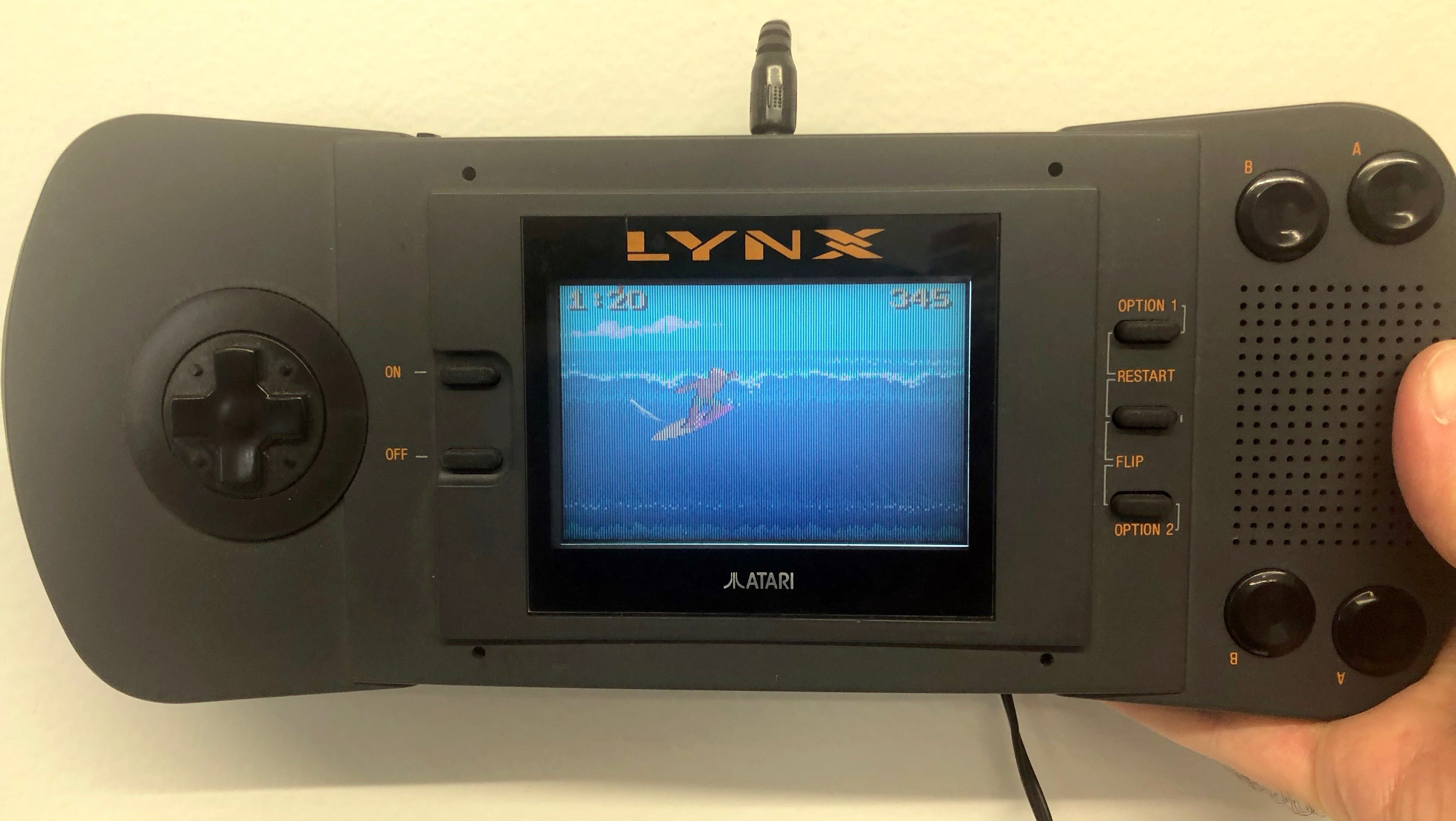 Decades After I Last Turned It On, My Atari Lynx Still Works