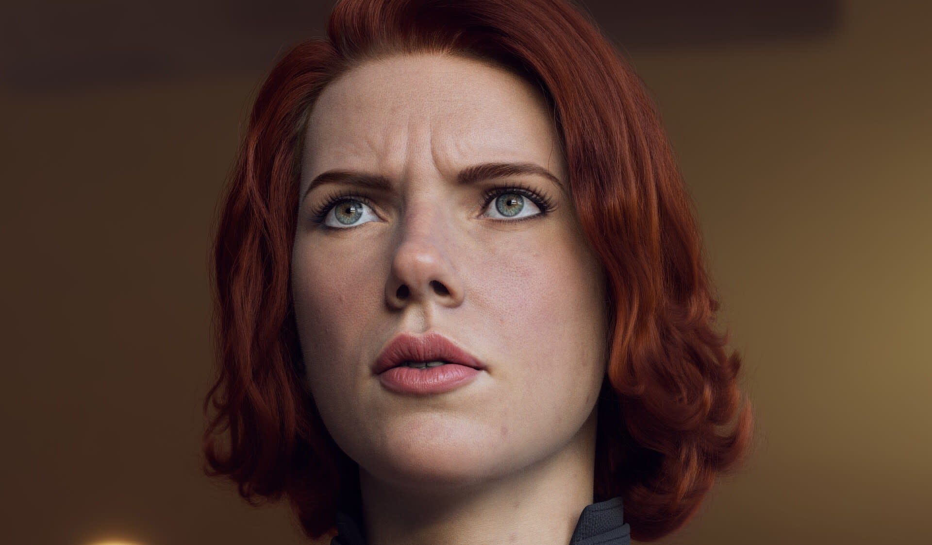 Black Widow Model Is Made Of Polygons, Not Scarlett Johanssons