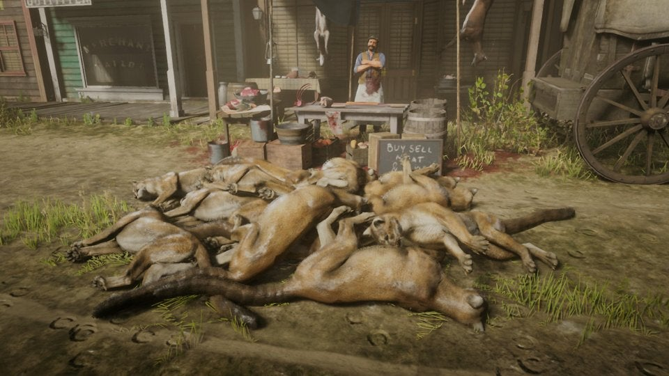 Red Dead Online Players Are Cloning Hundreds Of Cougars