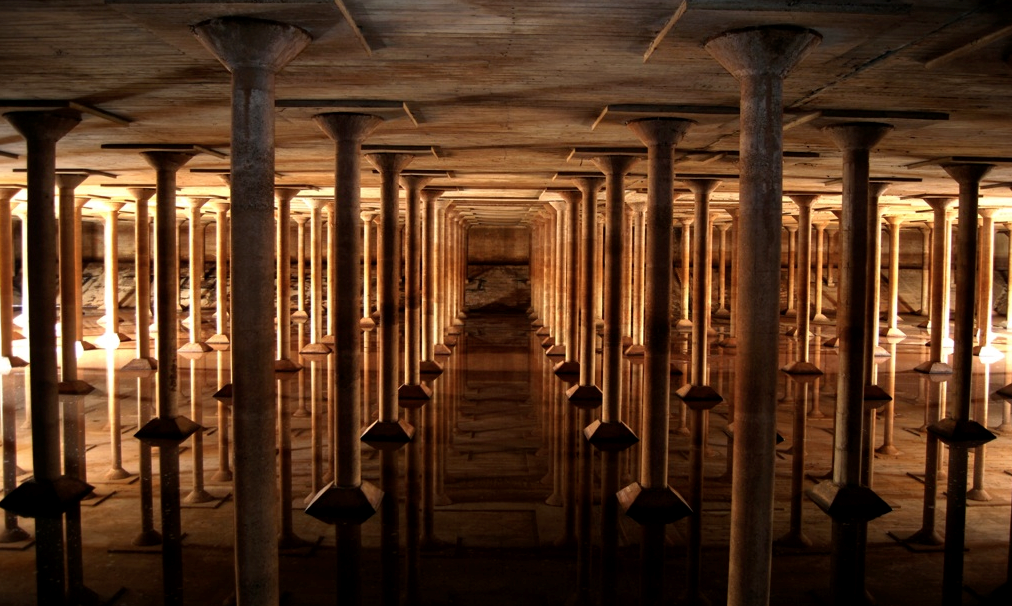 A Cathedral-Like Cistern Beneath Houston Is Now Open to the Public