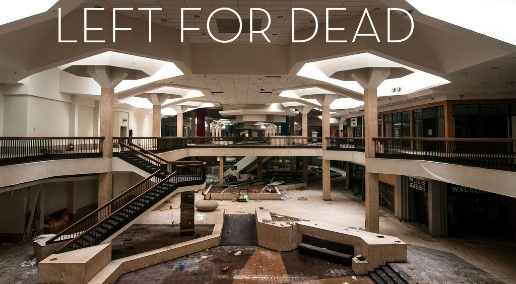 Abandoned Malls Look Like Sad, Empty Video Games