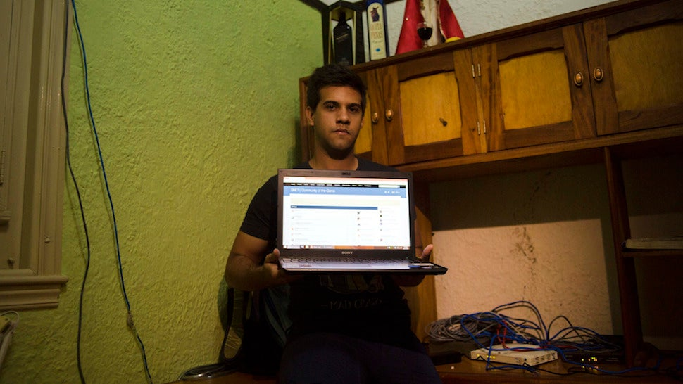 Cuba's Illegal Underground Internet Is Thriving