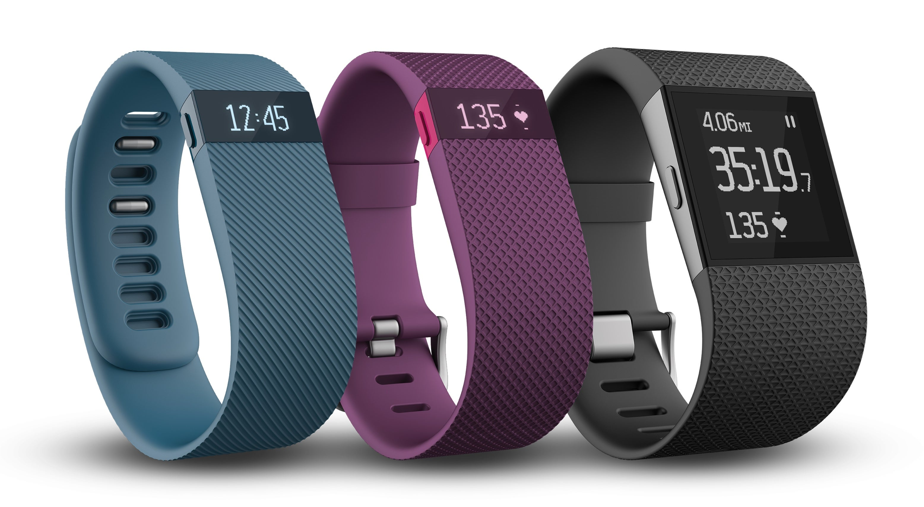 Fitbit Charge Finally Arrives, Charge HR and Surge Land in 2015