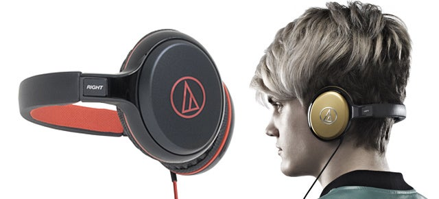 Over-Ear Headphones That Wrap Behind Your Head To Preserve Your 'Do