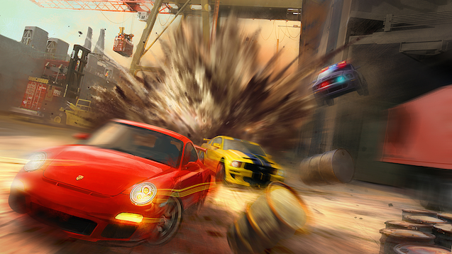 Cancelled Driver Game Involved Blowing Apart San Francisco