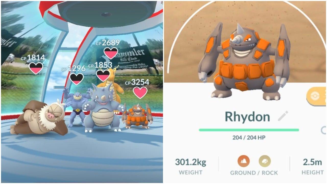 Pokémon Go Has Made Rhyperior Too Darn Small