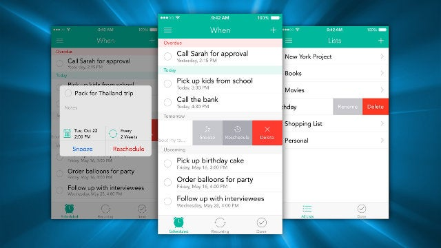Checkmark Adds Snoozing And Recurring Reminders