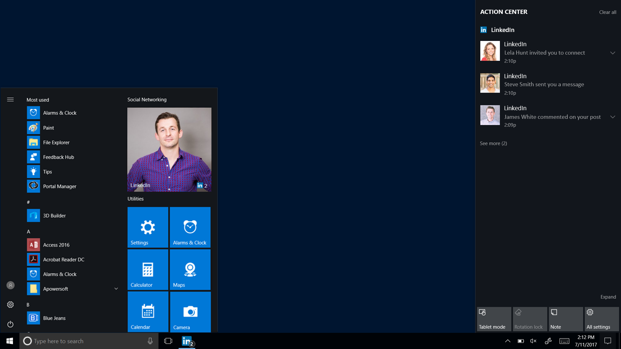 How To Stop LinkedIn App Notifications In Windows 10