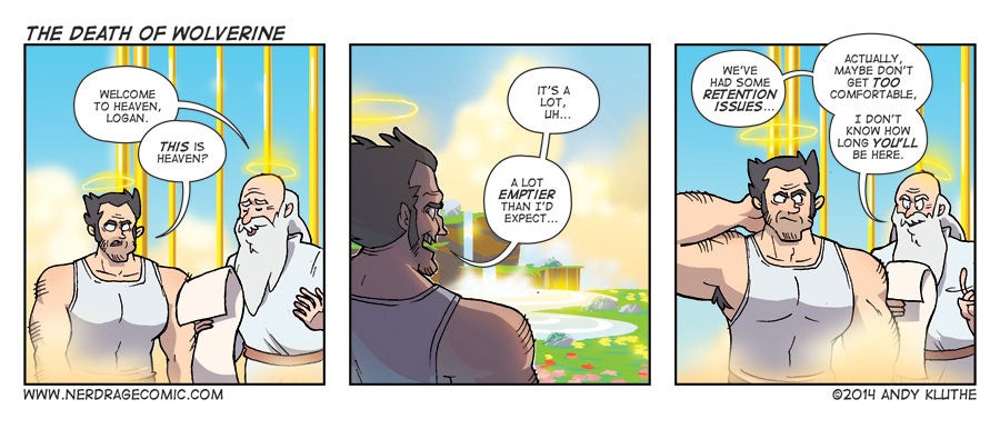 Sunday Comics: Picture Me As Knuckles
